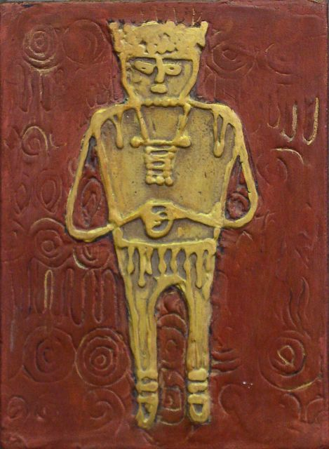 Muisca Man with Cup